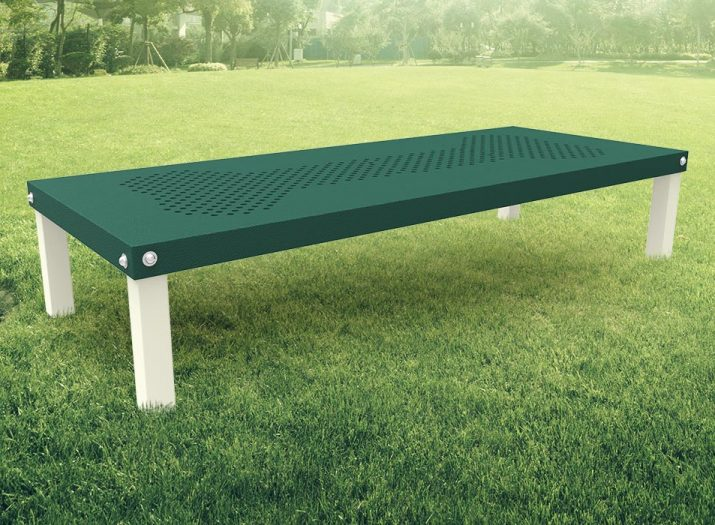 dogipark, rectangle table, table for dogs